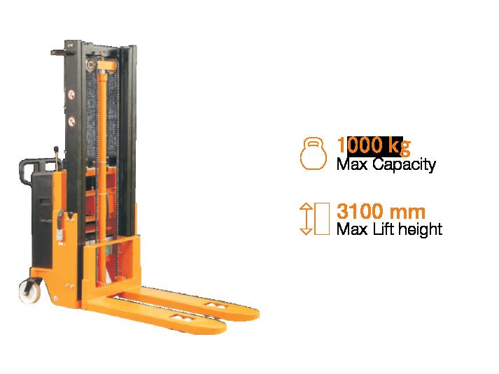 Maini Materials Movement - Stacker   Semi Electric Stacker